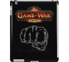 GAME OF WAR: FIRE AGE - REV REVOLUTION BABY! iPad Case/Skin