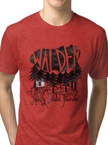 Walden (black) Tri-blend T-Shirt
