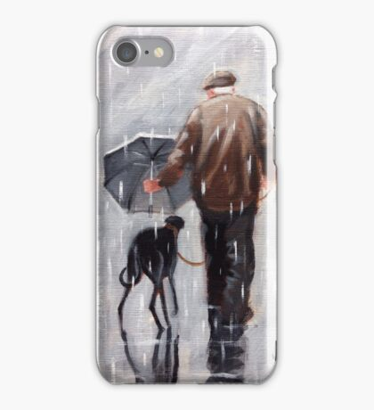 Well he is getting on a bit! iPhone Case/Skin