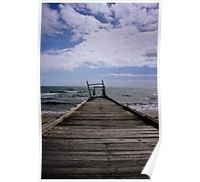 Elwood Beach Jetty Decay Poster
