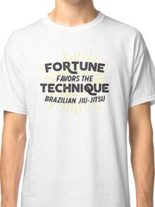Fortune Favors the Technique Classic T-Shirt