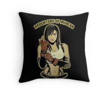 Daughters of Midgar Throw Pillow