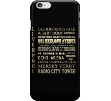 Liverpool Famous Landmarks iPhone Case/Skin