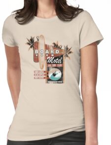board room motel Womens Fitted T-Shirt