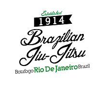 Established 1914 - Brazilian Jiu-Jitsu by crushbjj