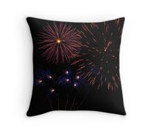 Canberra 2010 Firework Display Throw Pillow