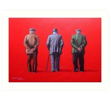 Remember when we used to paint this town red? Art Print