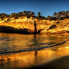 Loch Ard Reflections - The Great Ocean Road  - The HDR Experience by Philip Johnson