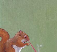 Laser Squirrel by chelsgus