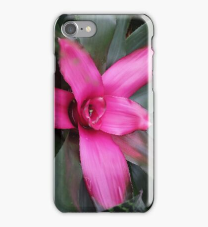 contrast between pink&green iPhone Case/Skin