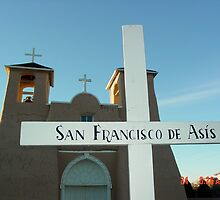 St. Francis in Taos, New Mexico by mary77