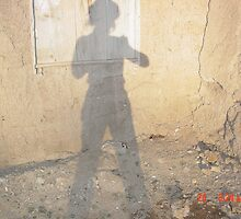 Shadow of M-_-y  at Taos, New Mexico by mary77
