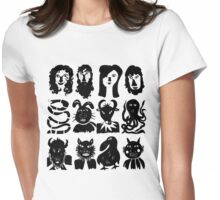 People & Creatures Womens Fitted T-Shirt