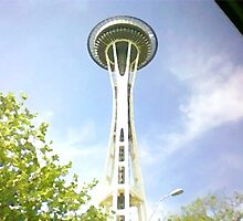 Seattle Space Needle by TiMaN