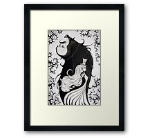 Mr. and Mrs. Beast Framed Print