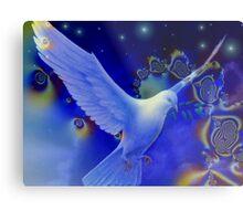 Peaceful Dove Metal Print