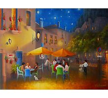 Starry Night Cafe Society Photographic Print