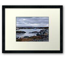 Blue Rocks-Tiny Harbour (1) Framed Print