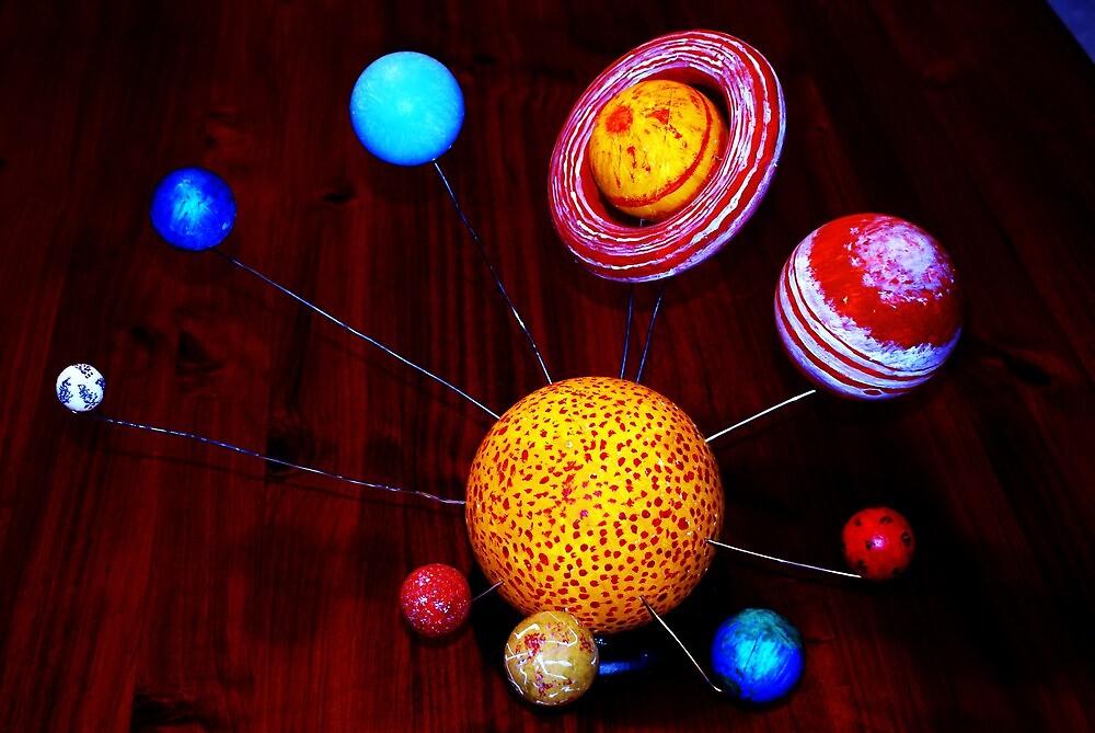 The Solor System by Adam Jones