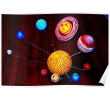 The Solor System Poster