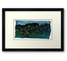 My Mountains #2 Framed Print
