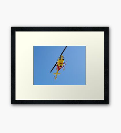 Going higher and higher. Framed Print