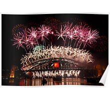 Sydney Fireworks 2009-2010 p3 Poster