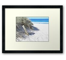 Lonely log Framed Print
