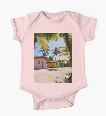 a colourful Dominican Republic landscape One Piece - Short Sleeve
