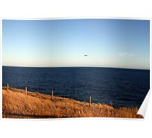 Bird's eye view, Victor Harbour SA Australia Poster