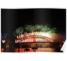 Sydney Fireworks 2009-2010 p9 Poster