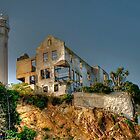 Alcatraz Lighthouse by Cheryl  Lunde