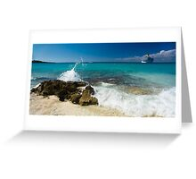 a historic Dominican Republic landscape Greeting Card