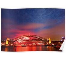 Sydney Fireworks 2009-2010 p14 Poster
