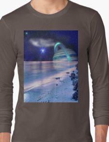 Space on the Beach Long Sleeve T-Shirt