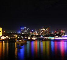 Sydney harbour NYE 2009-2010 by Tim Beasley