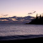 Lake Superior Sunrise in Winter by cjbenck