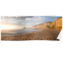 Gibsons Beach Sunset, Victoria Poster