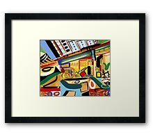Abstract Interior #19 Framed Print