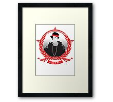 Moss - Mother Flippin Gangstar Framed Print