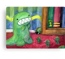 Monster Attack Canvas Print