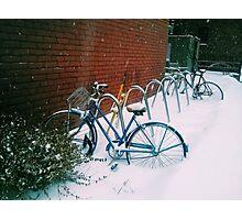 Snow in DC Photographic Print