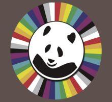 rainbow panda Kids Clothes