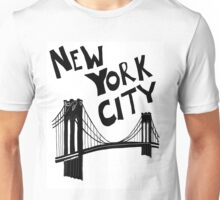 New York City - Brooklyn Bridge Unisex T-Shirt