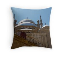 Mosque of Salah al-Din Throw Pillow
