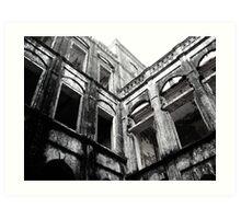 haunted palace Art Print