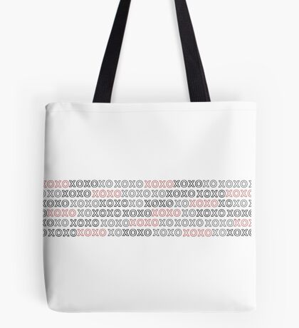 XOXO w/ Red Tote Bag