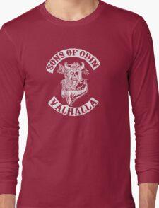 Sons of Odin Vikings Inspired Long Sleeve T-Shirt