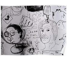 Doodles.  Poster