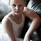 Pensive Ballerina by Karen Scrimes